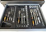 Werkstattwagen 1121Teile gefüllt fahrbar 7Schubladen Werkzeugwagen Rollwagen NEU