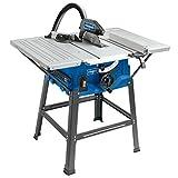 Scheppach Tischkreissäge HS100S, vielseitige Kreissäge mit HW-Sägeblatt 250 mm, mit Tischverbreiterungen und robustem Untergestell, 2000 W, 5901310901