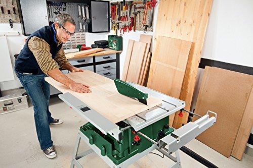 Bosch DIY PTS 10 T Tischkreissäge im Einsatz